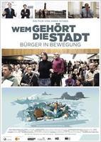 """Plakatmotiv """"Wem gehört die Stadt - Bürger in Bewegung"""""""
