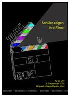 """Plakatmotiv """"Schülerfilm ab!"""""""