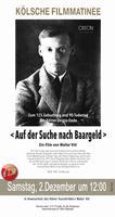 """Plakatmotiv """"Kölsche Matinée: Auf der Suche nach Baargeld"""""""