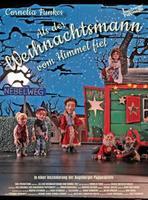 """Plakatmotiv """"Als der Weihnachtsmann vom Himmel fiel - Augsburger Puppenkiste"""""""