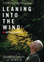 """Plakatmotiv """"Leaning Into The Wind - Andy Goldsworthy"""""""