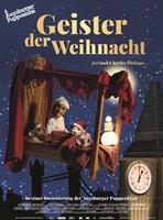 """Plakatmotiv """"Die Augsburger Puppenkiste - Geister der Weihnacht"""""""