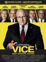 """Plakatmotiv """"Vice - Der zweite Mann"""""""