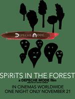 "Plakatmotiv ""Depeche Mode - Spirits in the Forest"""