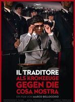 """Plakatmotiv """"Il Traditore - Als Kronzeuge gegen die Cosa Nostra"""""""