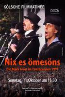 "Plakatmotiv ""Bläck Fööss - Nix es ömesöns - Live Tanzbrunnen 1991"""